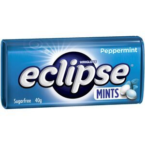 Eclipse Peppermint Mints 40g X 12 Units