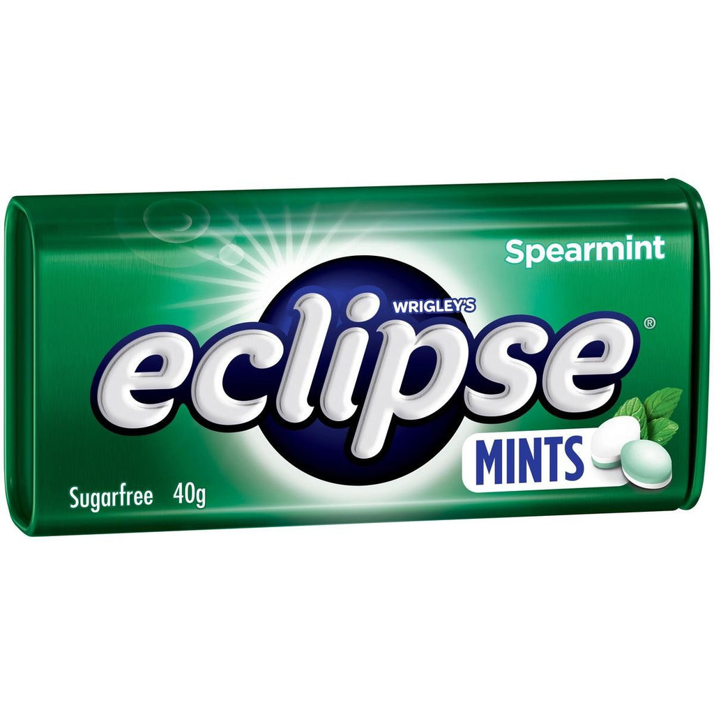 Eclipse Spearmint Mints 40g X 12 Units
