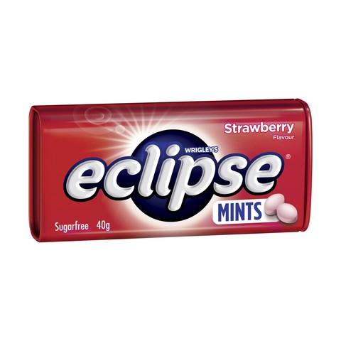 Eclipse Strawberry 40g X 12 Tins - Remas