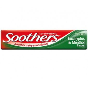 Soothers Eucalyptus & Menthol 45g X 36 Units