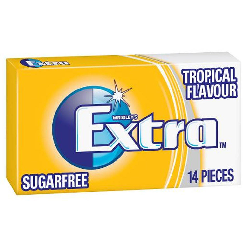 Extra Tropical Gum 27g x 24 units