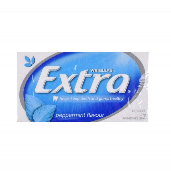 Extra Peppermint Gum 27g X 24 Units