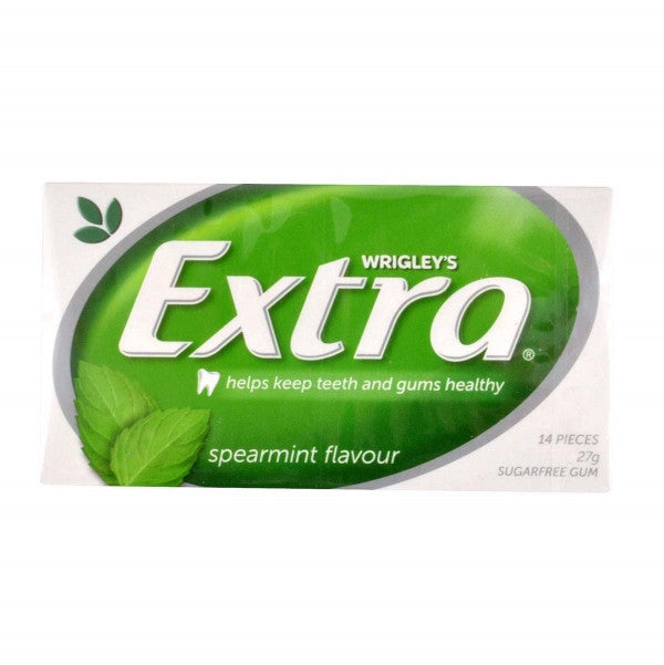 Extra Spearmint Gum 27g X 24 Units - Remas