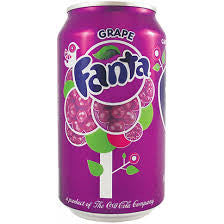 Fanta Grape 355ml X 12 Cans - Remas