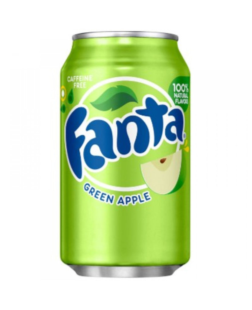 Fanta Green Apple 355ml X 12 Cans