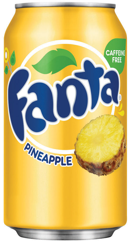 Fanta Pineapple 355 ml x 12 cans - Remas