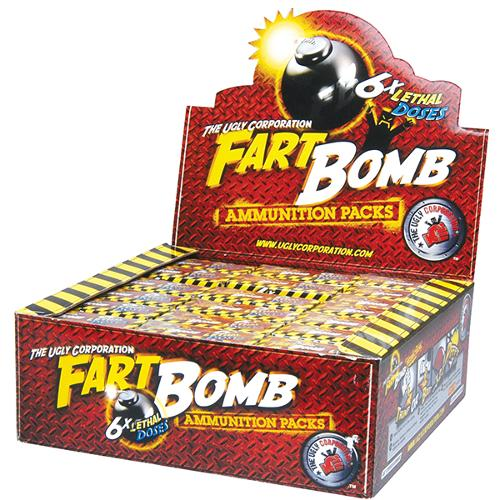 Fart Bombs 6 Pack x 21 Units