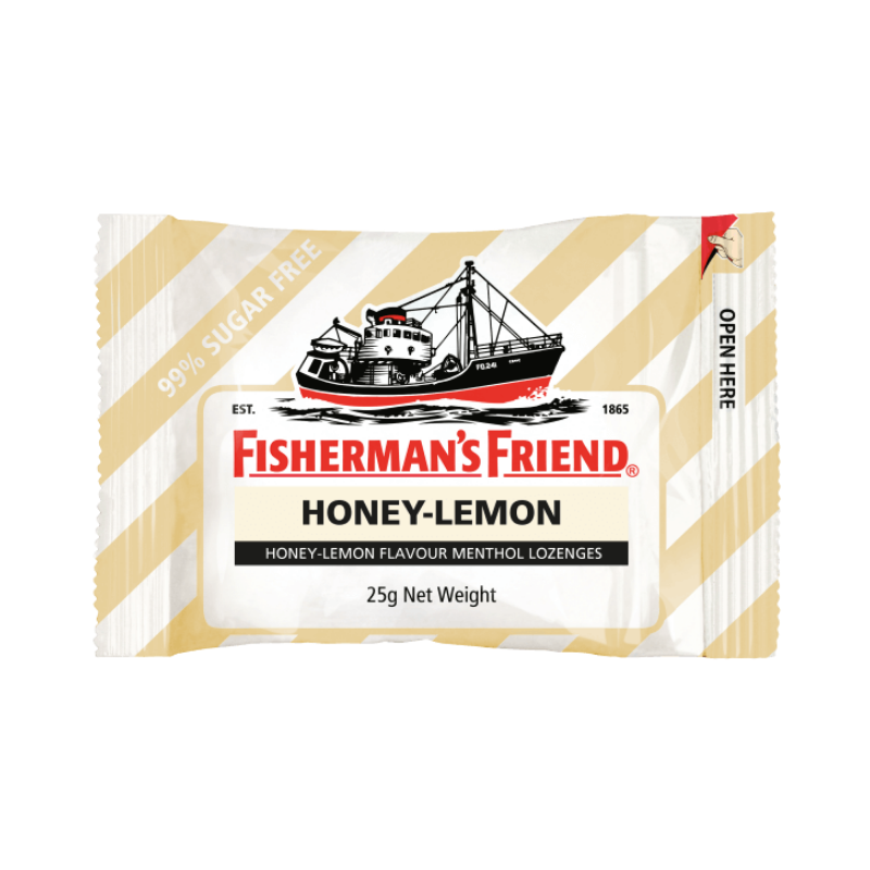 Fisherman's Honey Lemon 25g X 12 Units