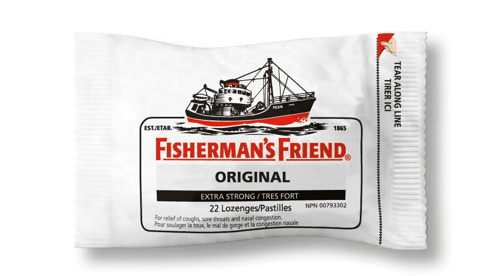 Fisherman's Extra Strong Menthol Original White 25g X 12 Units