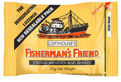 Fisherman's Strong Menthol Yellow 25g X 12 Units - Remas