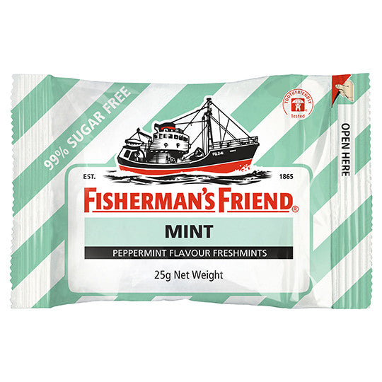 Fisherman's Mint White & Light Green 25g X 12 Units