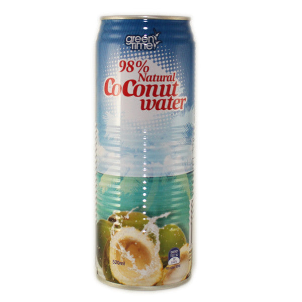Green Time Coconut Water 520ml X 24 Cans - Remas