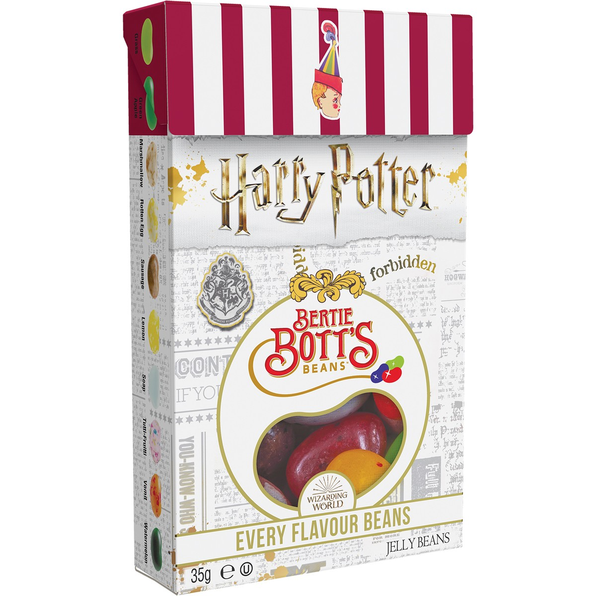 Jelly Belly Harry Potter Bertie Beans 34g X 24 Units - Remas