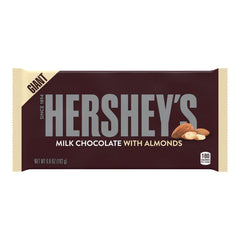 Hershey's Giant Milk Chocolate with Almonds Block 192g