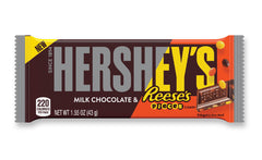Hershey's Milk Choc and Reese's Pieces 43g X 36 Bars
