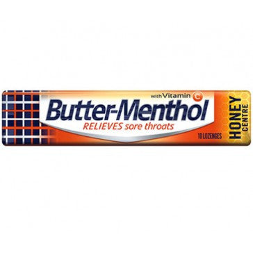 Butter Menthol Honey 45g X 36 Units
