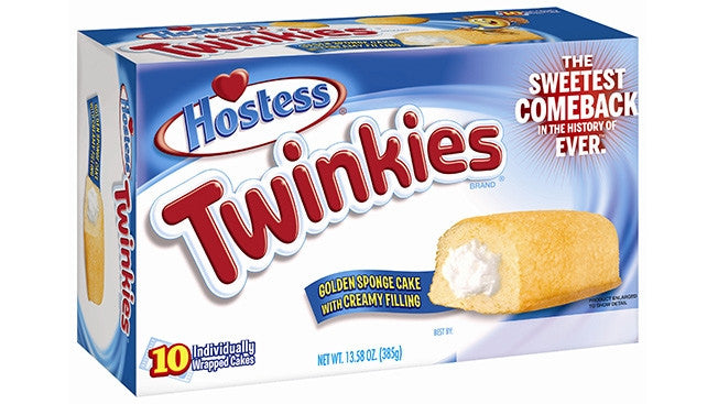 Hostess Twinkies 432g X 1 Box