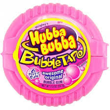 Hubba Bubba Tape Original Gum 56.7g X 12 Units