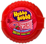 Hubba Bubba Tape Strawberry Gum 56.7g X 12 Units - Remas