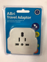 ABRI Universal Travel Adapter X 1 Unit