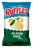 US CHIPS Ruffles Jalapeno Ranch 184g X 15 Bags Cheetos