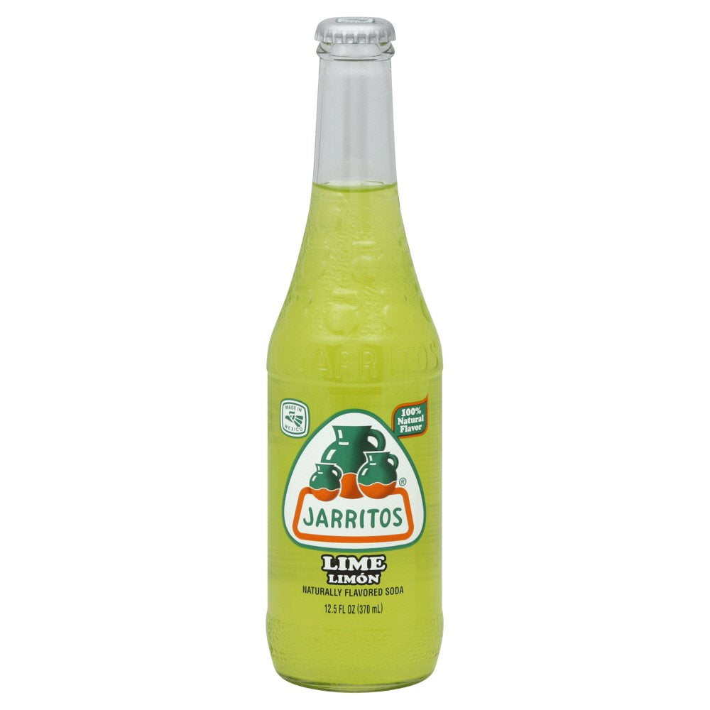 Jarritos Lime 370ml X 24 Bottles
