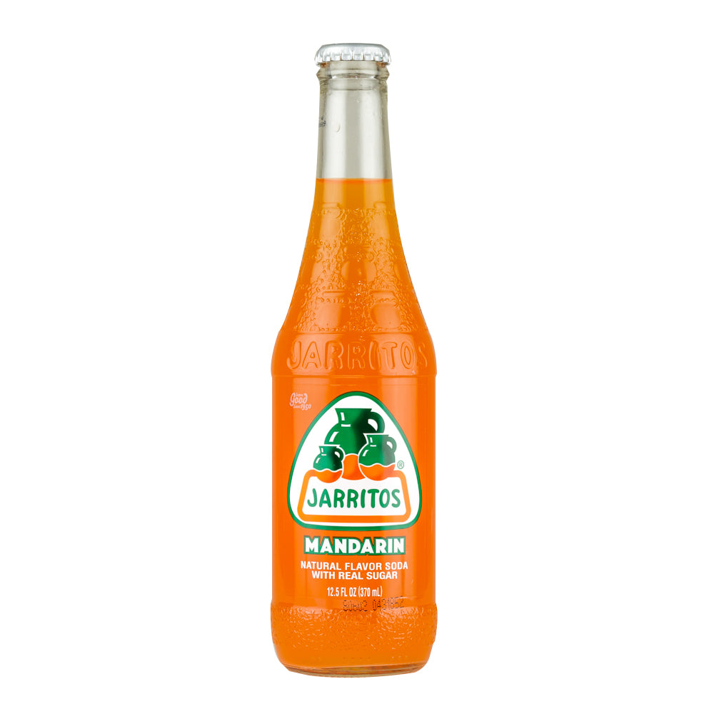 Jarritos Mandarin 370ml X 24 Bottles