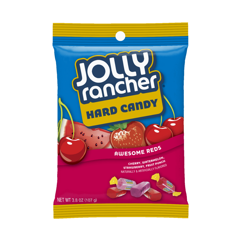 JOLLY RANCHER AWESOME REDS 198g X 12 bags