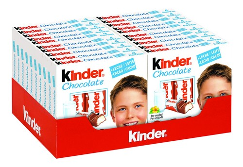 Kinder Chocolate 4 Treats 20 X 50g