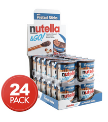 Kinder Nutella & Go Pretzel Sticks 24 X 50g