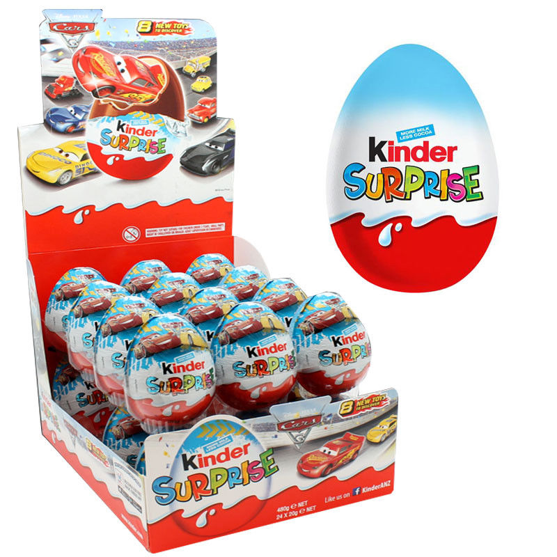 Kinder Surprise Blue eggs 20g x 24 Units
