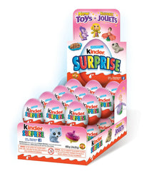 Kinder Surprise Pink Eggs  20g x 24 Units
