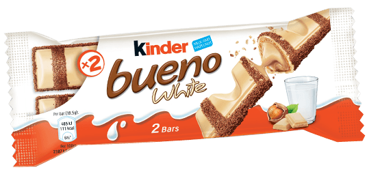 Kinder Bueno White 43g X 30 Bars