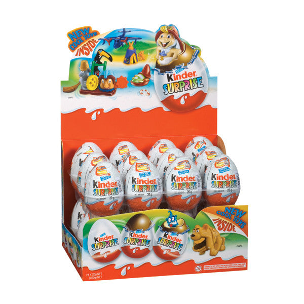 Kinder Surprise Eggs 20g X 24 Units