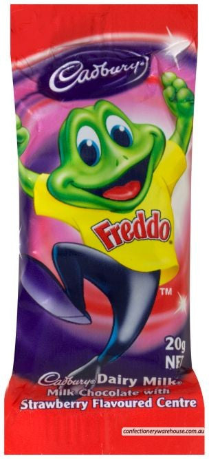 Cadbury Strawberry Freddo 15g X 72 Bites
