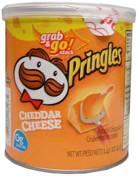 Pringles Cheddar Cheese Chips 40g X 12 Units