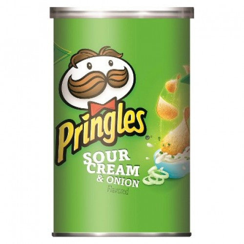 Pringles SC & Onion Chips 71g X 12 Units - Remas