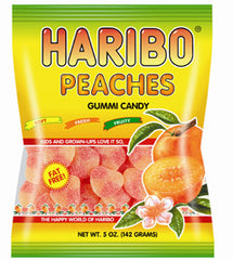 Haribo Peaches 142g X 12 Bags - Remas