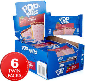 Pop Tarts 2pk Frosted Cherry 96g X 6 (2 packs )