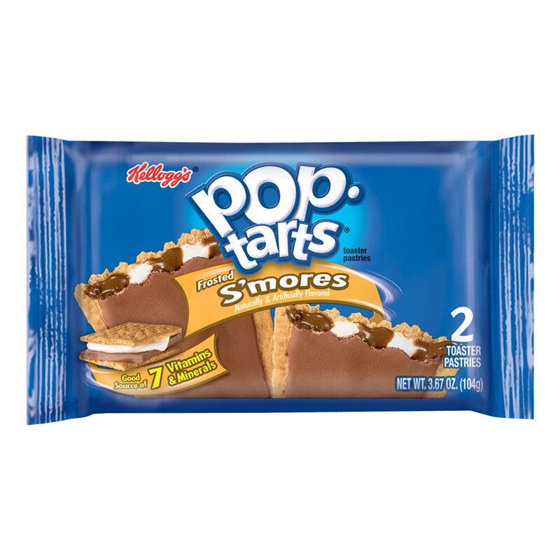 Pop Tarts 2pk Frosted S'mores 96g X 6 ( 2 Packs )