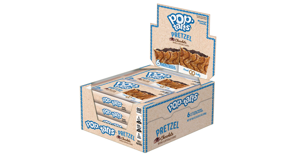 Pop Tarts 2pk Pretzel Chocolate Fudge 96g X 6 (2 packs )