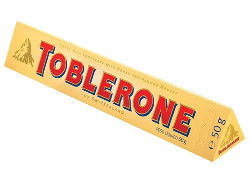 Toblerone Milk Choc 50g X 24 Units