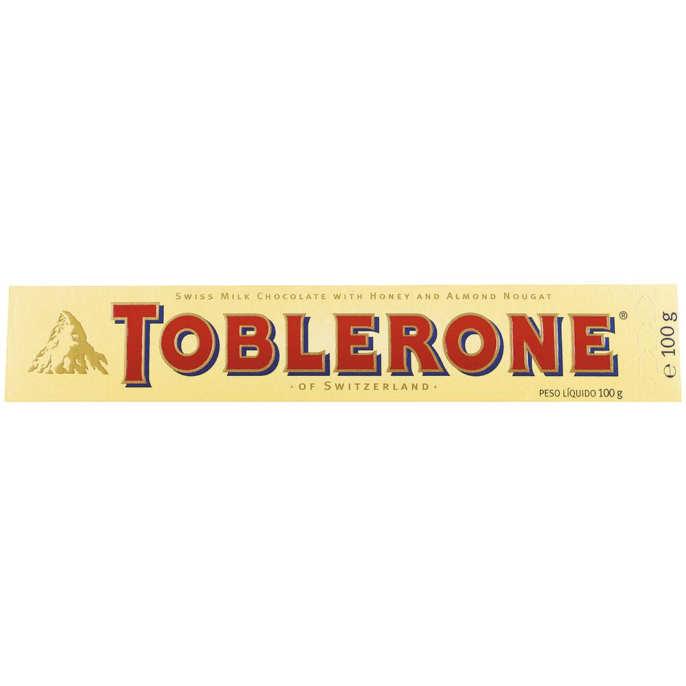 Toblerone Milk Choc 100g X 20 Units