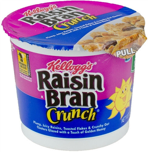 Cereal Raisin Bran Crunch 80g X 6 Cups - Remas