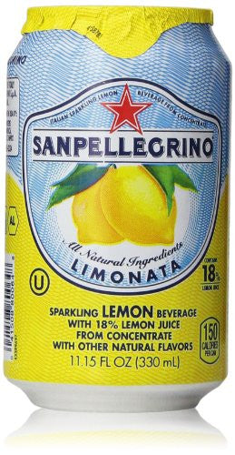 Sanpellegrino Limonata Can  330ml X 24 Cans