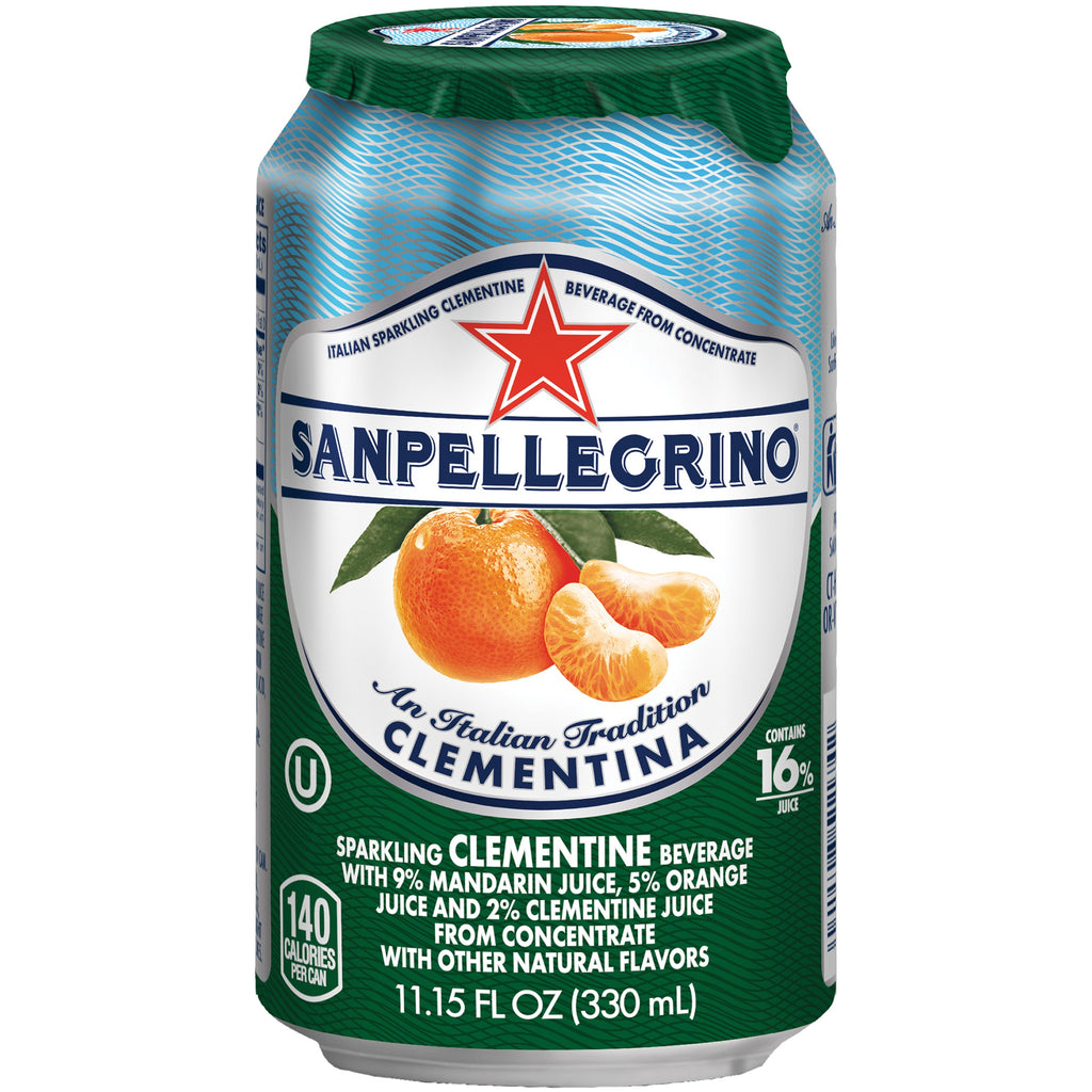 Sanpellegrino Clementina Can  330ml X 24 Cans