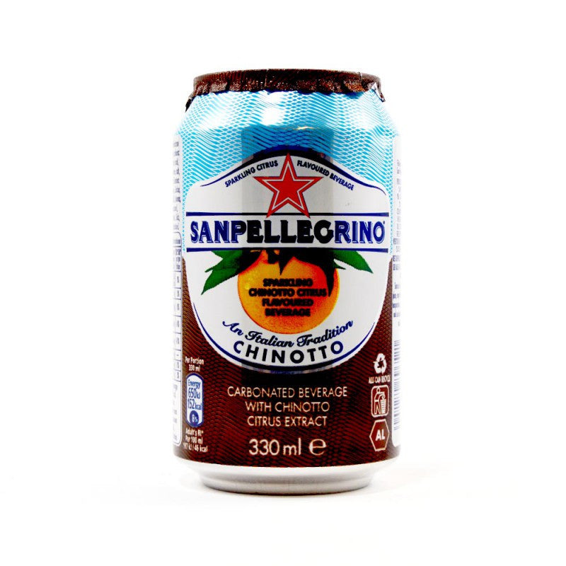 Sanpellegrino Chinotto 330ml X 24 Cans - Remas