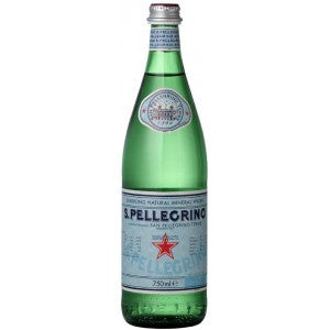 Sanpellegrino Sparkling Water 750ml X 12 Glass Bottles