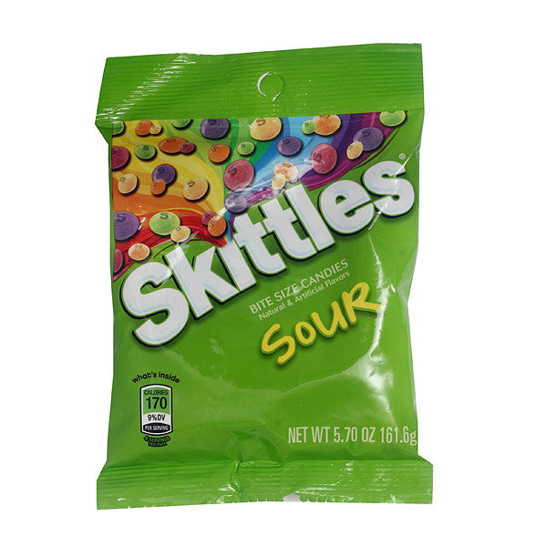 Skittles Sour 204.1g X 12 Bags