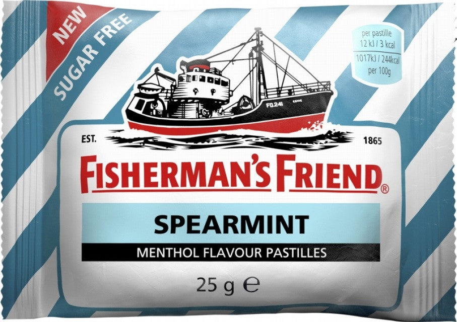 Fisherman's Spearmint White & Green 25g X 12 Units - Remas